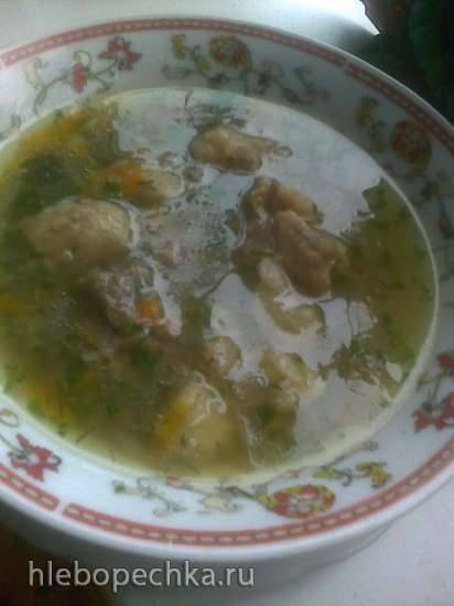 Суп с рисом и машем Дружба