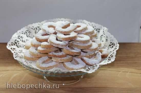 Рождественские ванильные рогалики Vanillekipfer