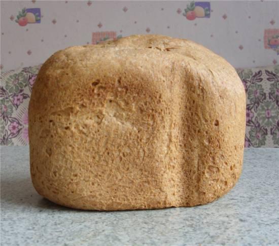 Нью-Йоркский ржаной хлеб (хлебопечка)
