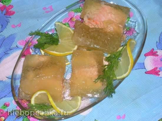 Заливная семга или холодец из рыбы (Steba DD1 ECO)Заливная семга или холодец из рыбы (Steba DD1 ECO)
