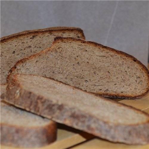 Ленивый черный хлеб