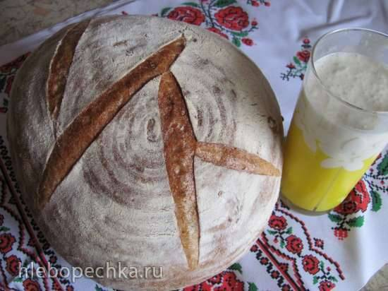 Французский чесночный хлеб с корочкой