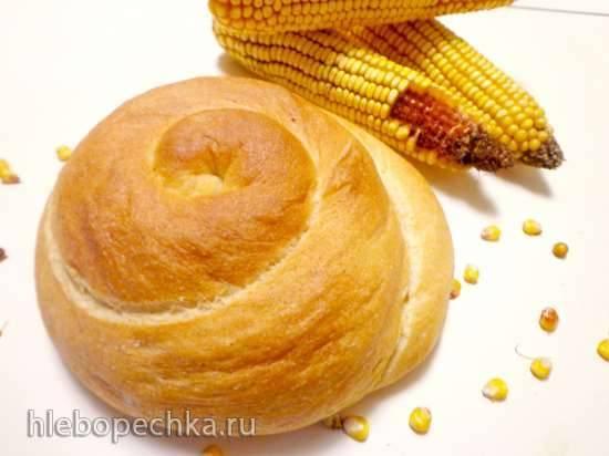 "Хлеб ""Кукурузная улитка"""