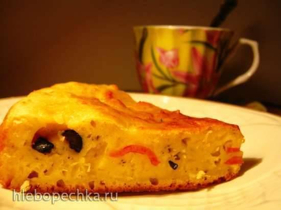 Сырный пирог в мультиварке Maruchi RW-FZ47