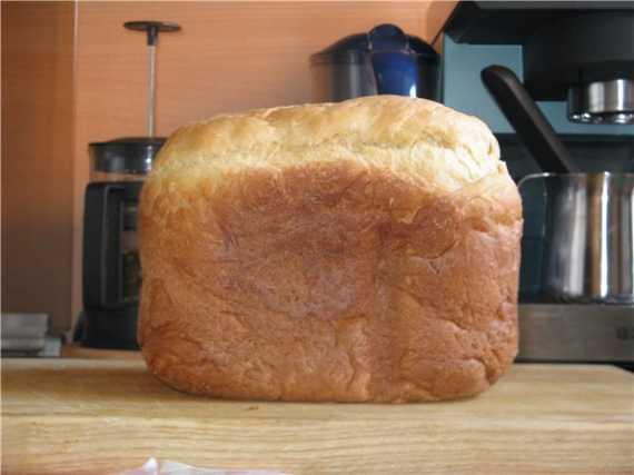 Пшенично-кукурузный хлеб на ряженке