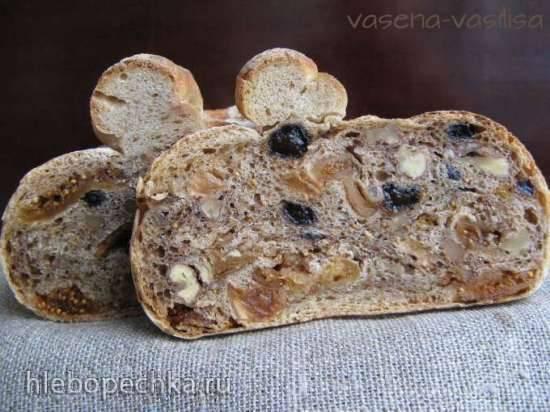 Фиговый хлеб или хлеб с инжиром
