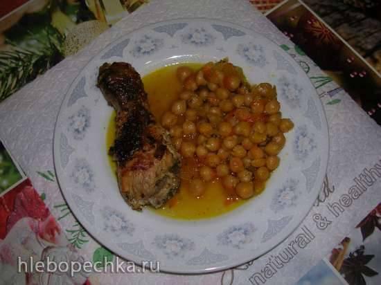 Нут с курицей и овощами (Steba DD1 ECO)
