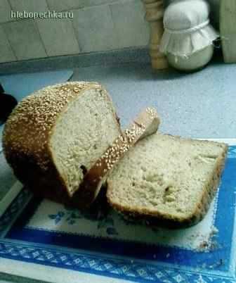 Хлеб пшенично-гречневый с цельнозерновой мукой