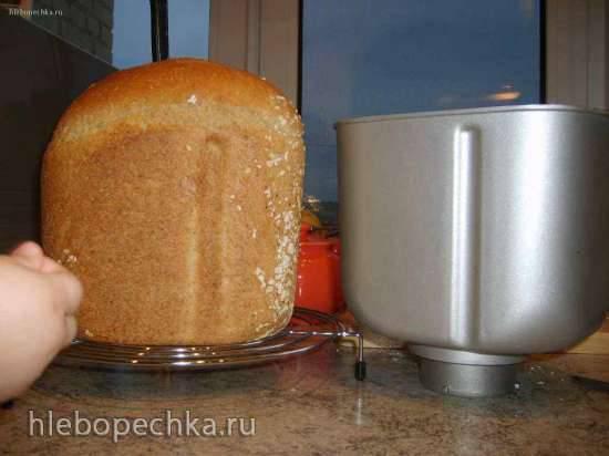 Пшеничный хлеб с отрубями,овсяными хлопьями и кленовым сиропом