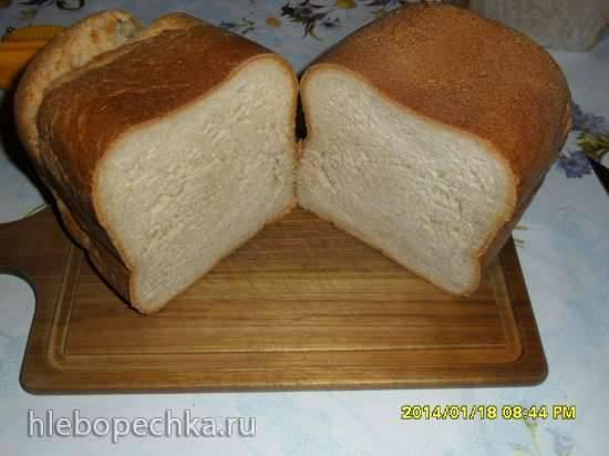 """Пшенично-ржаная """"хлебная баба"""" к чаю (хлебопечка)"""