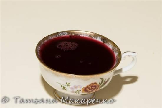 Витаминный напиток бруснично-черничный в Zauber MAX-550