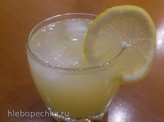 Яблочно-лимонный напиток в мультиблендере Profi Cook