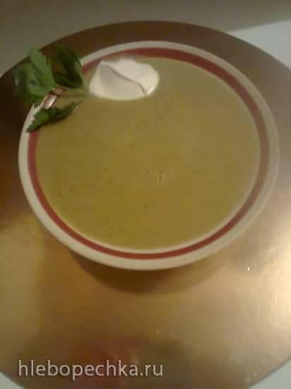 Суп-пюре с куриной печенью в блендере-суповарке Tristar BL-4433