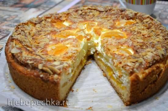 Пирог Персиковый маскарпоне