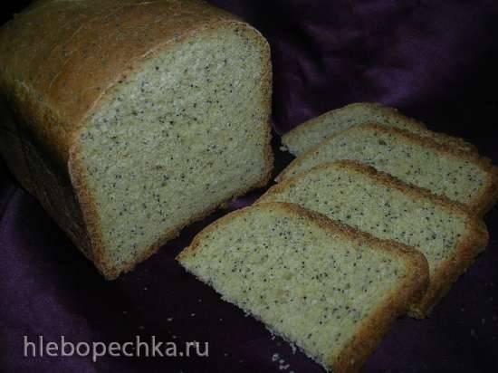 Moulinex 600230. Маковый хлеб
