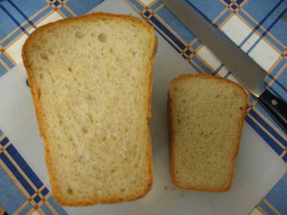 Дрожжевой хлеб по-старинке (духовка)