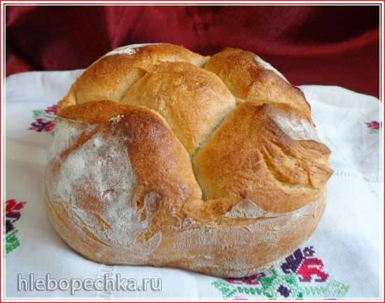 Хлеб Французский с сахаром в хлебопечке