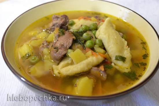 рецепт супа с куриной печени от недли коюзон