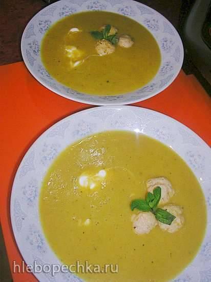 Рыбный супчик с овощами и фрикадельками (Мультиблендер Profi Cook PC-MCM1024)