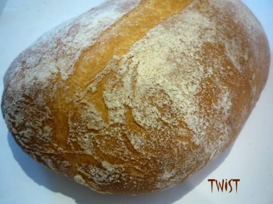 Хлеб на 70-ти процентной холодной опаре