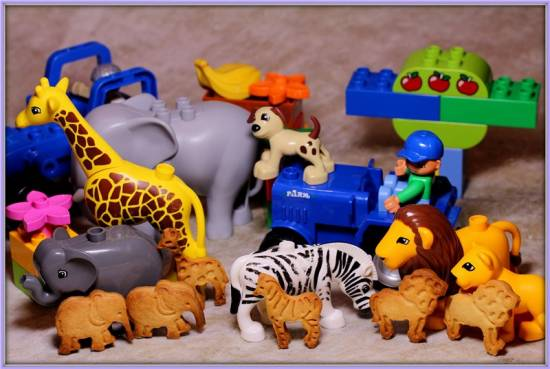 Печеньки Зоопарк