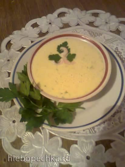Картофельный суп по бюзумски (блендер-суповарка Tristar BL-4433)