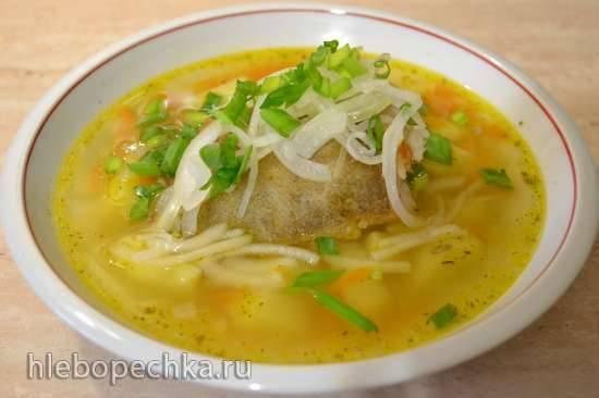 Оригинальный рыбный суп с палтусом