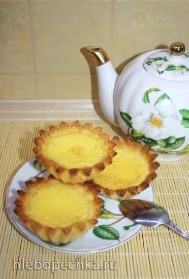 Яичный тарт в гонконгском стиле