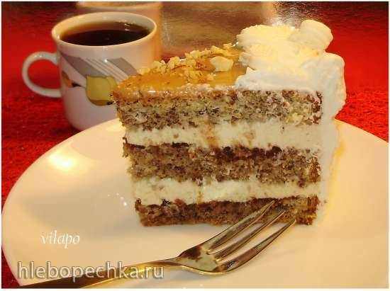 Торт «Нарцисс» (нежнейшее творожное облако)