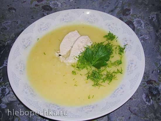 Куриный супчик с шафраном (Мультиблендер Profi Cook PC-МСМ1024)