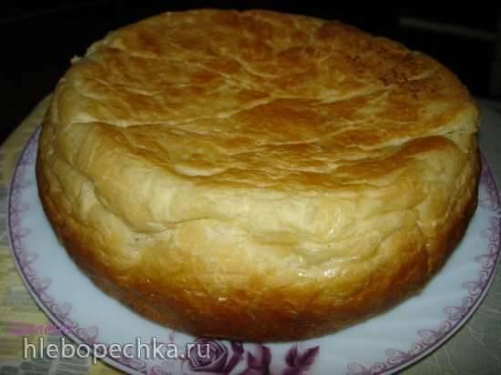 Пшеничный хлеб на ряженке или сметане (скороварка Polaris 0305)