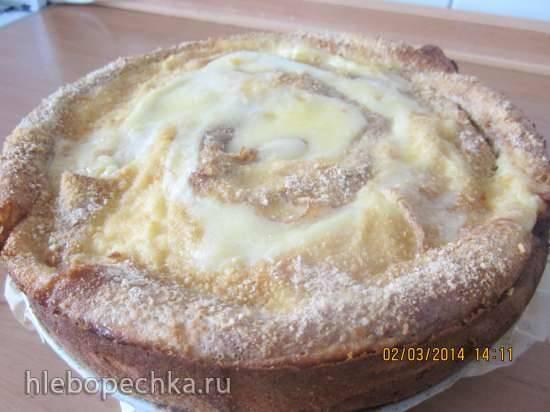 Блинный пирог с маскарпонеБлинный пирог с маскарпоне