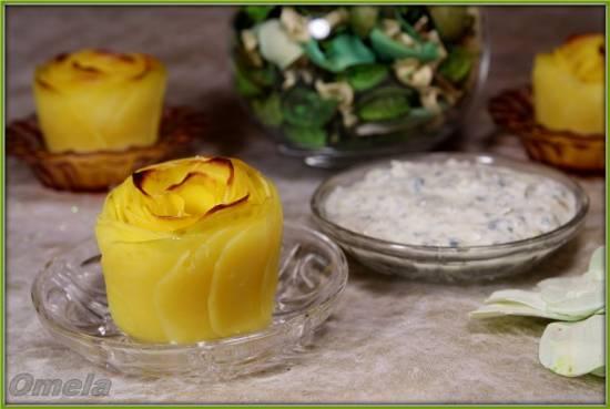 Картофельные «Розы»
