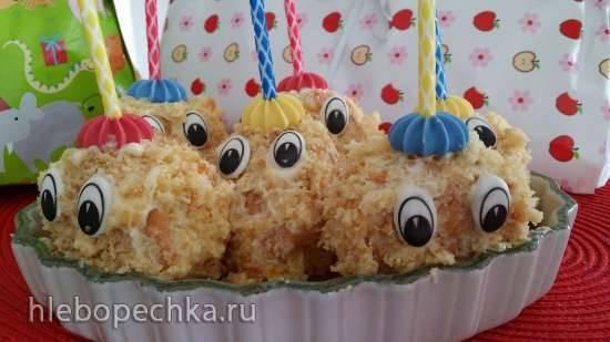 "Пирожное ""Колобки"""
