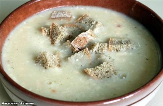 Сырный суп в Zauber ECO-580