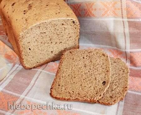 Дарницкий хлеб на сухой закваске в хлебопечке Moulinex