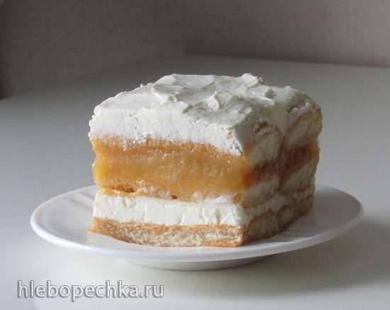 Десерт с лимончелло и рикоттой
