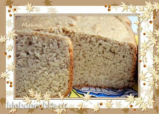 Philips HD9046. Овсяный хлеб (с низким содержанием клейковины)