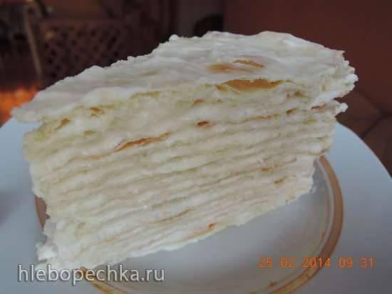 """Торт """"Нежный Наполеон"""" (мастер-класс)"""