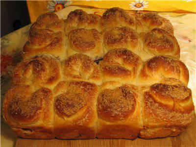 Хлеб пшеничный творожный «Нежный» (духовка)