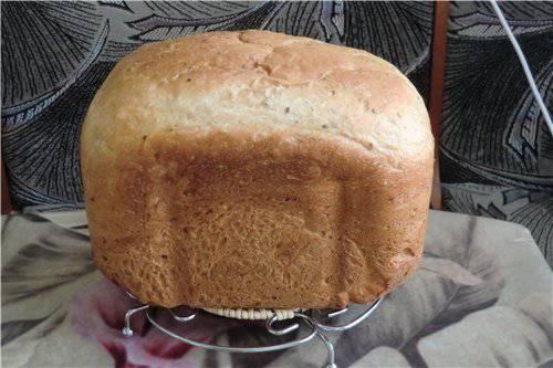 Пшеничный хлеб на рассоле с отрубями