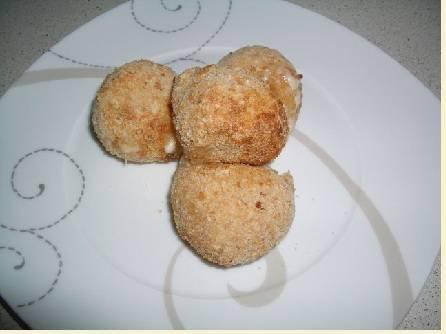 Очень сырные шарики в панировке (аэрофритюрница)