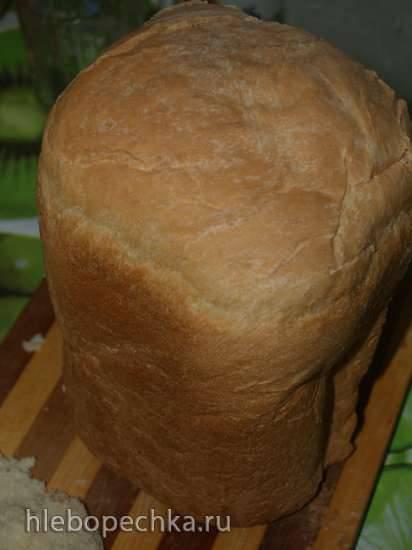 LG HB-3001 BYT. Сметанный хлеб на живых дрожжах, в хлебопечке