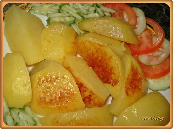 Картофель на программе гречка  в Cuckoo 1051
