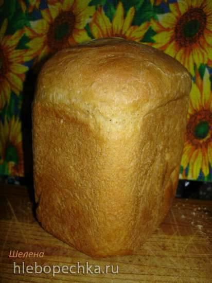 Молочно-кефирный пшеничный хлеб (хлебопечка Polaris PBM 1501D)