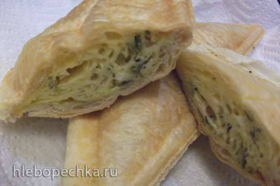 Хачапури в сэндвичнице (Steba)