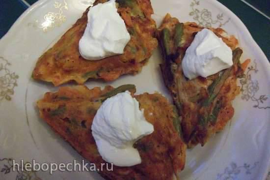 Овощные треугольники (сэндвичница Steba) Овощные треугольники (сэндвичница Steba)