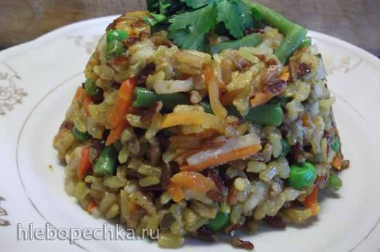 Рис с овощами на пару (мультиварка-скороварка Steba DD1)