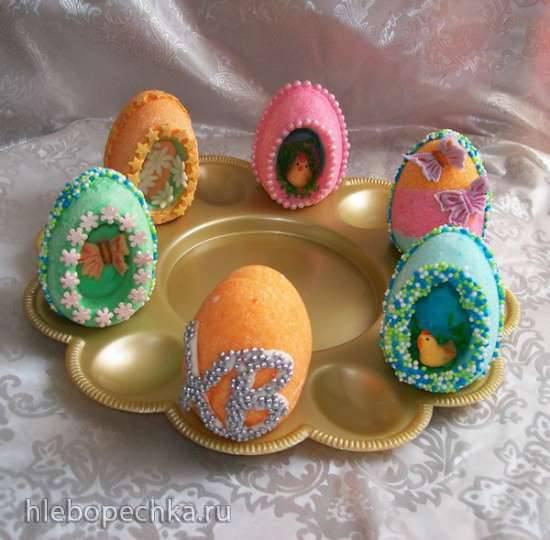 Сахарные яйцаСахарные яйца