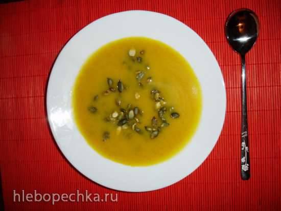 Тыквенный суп в soy milk maker Midea Mi-5 (по мотивам рецепта Ники Белоцерковской)